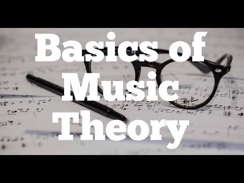 Basics of Music Theory:  Part I