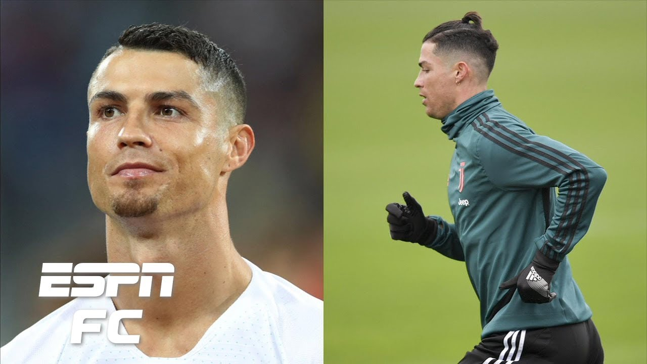 What S Worse Cristiano Ronaldo S New Man Bun Or His World Cup