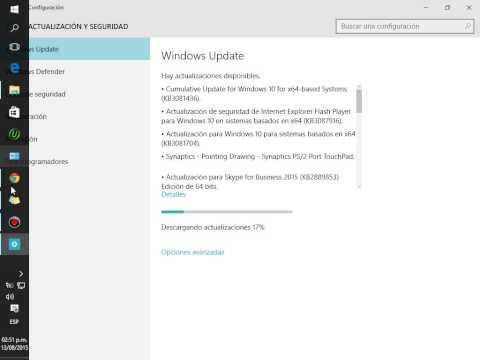 ¿Donde esta Windows Update en Windows 10?