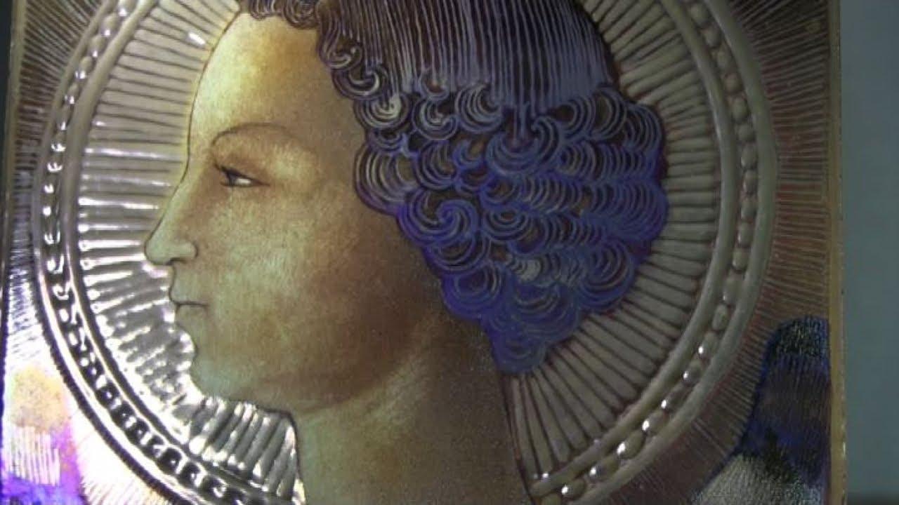 Svelata la prima opera di leonardo da vinci:un arcangelo gabriele