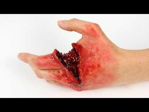 FX Halloween Series: OMG! I cut my hand!