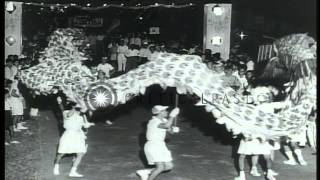 Celebration and dancing in Pahang, Malaysia. HD Stock Footage