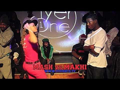 MASH VS MAKHI (13 YEAR OLD GIRL VS 14 YEAR OLD BOY) PIT FIGHTS BATTLE LEAGUE :DEATHMAS 2