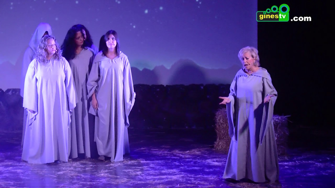 """""""El día que Jesús no quería nacer"""" volvió a poner la banda sonora a la Navidad de Gines"""