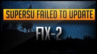 2016 supersu installation failed fix   100 working fix method 2