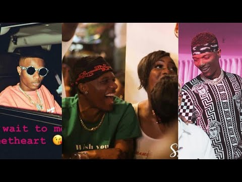 See What Wizkid Did To Tiwa Savage His Girlfriend At His 28th Birthday Party
