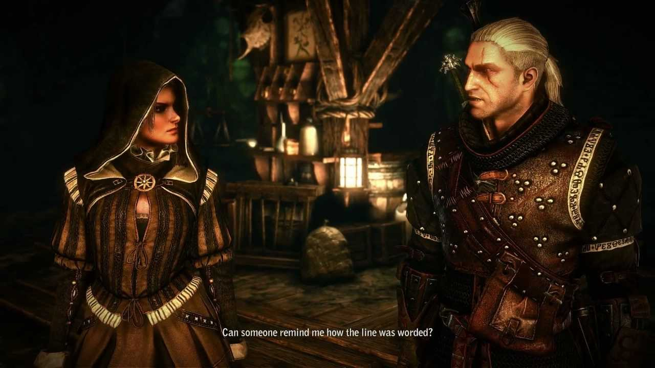 how to get to cave beneth flotsam witcher 2