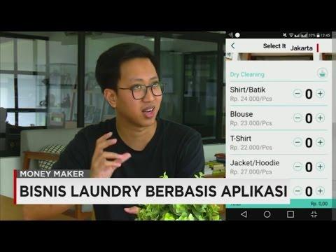 Bisnis Laundry Berbasis Aplikasi
