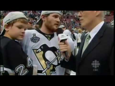 2009 Stanley Cup Final: CBC Cooke Interview