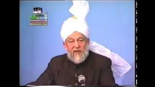 Friday Sermon 27 January 1995