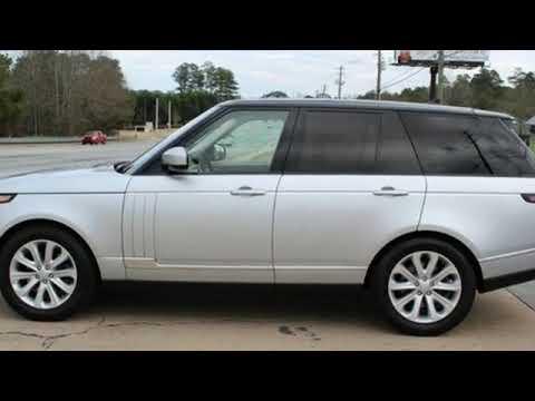 2016 Land Rover Range Rover Lilburn GA Atlanta, GA #248862