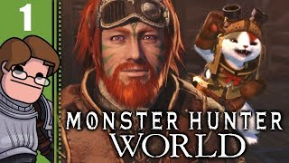 Let's Play Monster Hunter: World Part 1 - A New Player in the New World