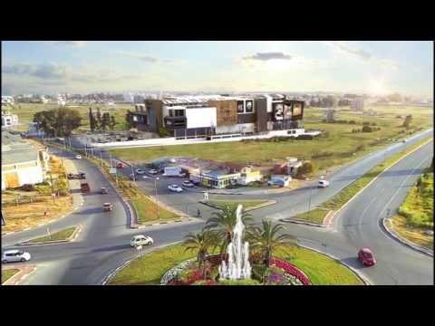 City Mall AVM  Kıbrıs Magosa 3d animasyon ( cyprus AVM ) Vray Animation 3d studio max 2014