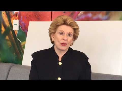 Sen. Stabenow talks business