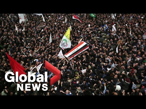 Blasts hit Baghdad area as Iraqis mourn Iranian general