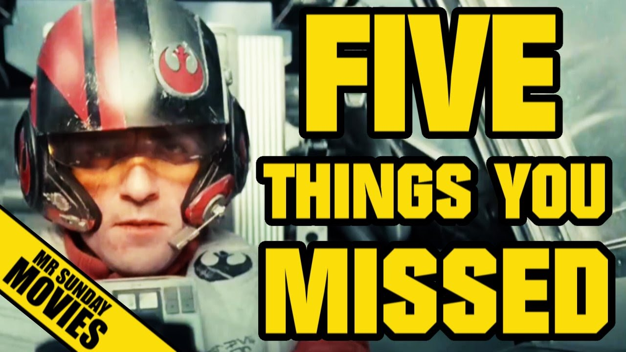 STAR WARS: THE FORCE AWAKENS Trailer - Easter Eggs, References & Things You Missed