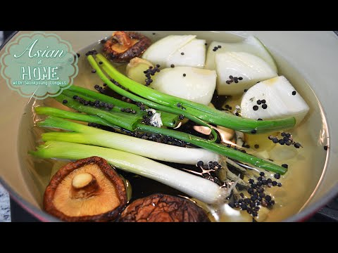 Ultimate Korean Stock : Basic Korean Stock Recipe for All Korean Food 만능육수