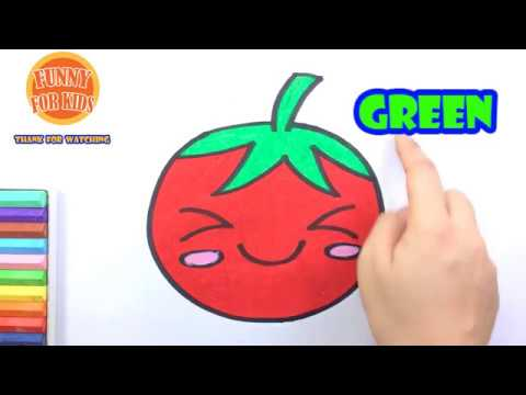 how-to-draw-a-cute-tomato-easy-|-drawing-and-coloring-fruit-|-funny-for-kids