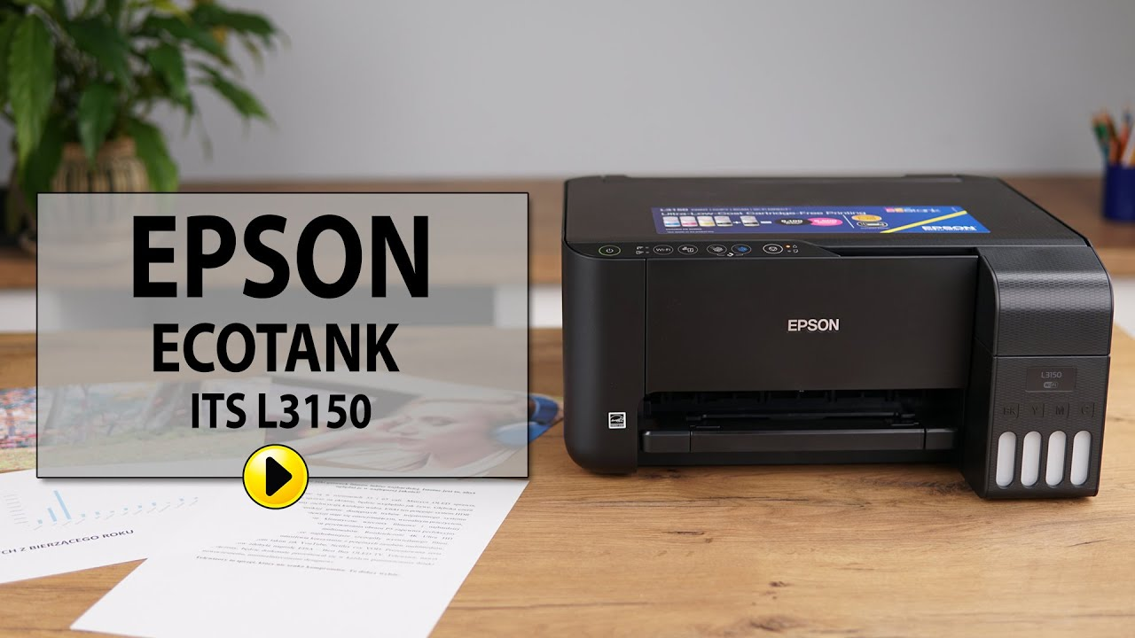 EPSON EcoTank L3150 (C11CG86405) Drukarka - ceny i opinie w