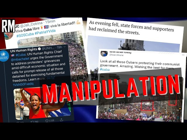 How the Media Manipulates Images (with Chargée d'Affaires of Cuban Embassy)
