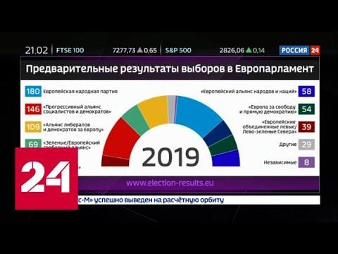 """""""Факты"""": Кого выбрала Европа? Куда и на чьи деньги пойдет Евросоюз? 27 мая 2019 (20:30) - Россия 24"""