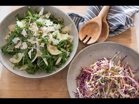 Crisp Apple Slaw | Rocket, Pear & Fennel Salad | Recipes