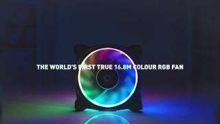 Thermaltake Riing Plus 16.8M RGB Fan - The Ultimate PC case fan