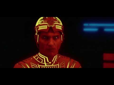 Tron 1982 With Modern Soundtrack clip 2 CLU