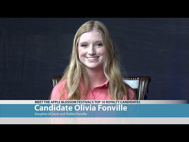 Apple Blossom Candidate Olivia Fonville