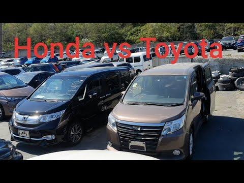 Битва минивенов Honda vs Toyota, какой купить, РОЗЫГРЫШ 100 000тыс рублей