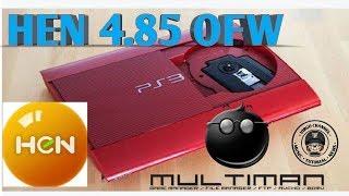 Ps3 Hen 4.85 Ofw Cfw    Tutorial Multiman Ofw
