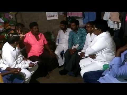 AA Foundation AP Visits Devarapalli Village Prakasham District, Parchur Mandal | Dalitula Problems