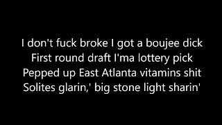 Wiz Khalifa feat. Gucci Mane - Real Rich (Lyrics)