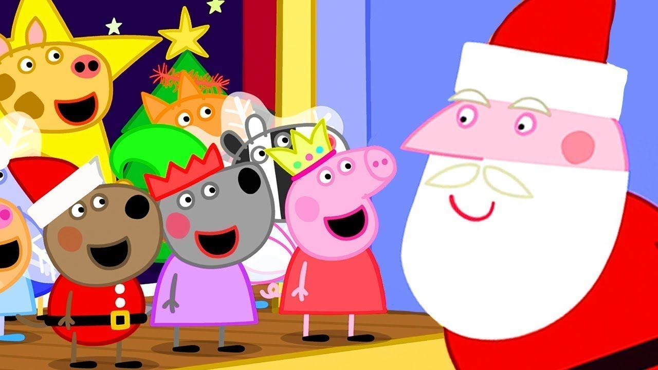 Peppa Pig Portugues Brasil Feliz Natal Hd Desenhos Animados