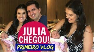 PRIMEIRO VLOG COM A JULIA!