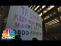 Scores Of New Yorkers March Against Chase, Goldman, Dodd-Frank Rollback | CNBC