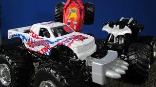 2015 E Monster Jam New Batman Casting Batmobile