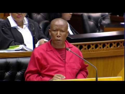 Malema calls on ANC MPs to vote with the opposition (EFF debate)