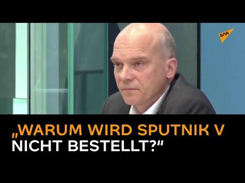 """""""Warum wird Sputnik V nicht bestellt?"""" – Journalisten nehmen Spahn-Sprecher ins Kreuzverhör"""