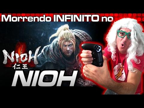 Morrendo INFINITO no NIOH – Gameplay com Rodrigo Piologo