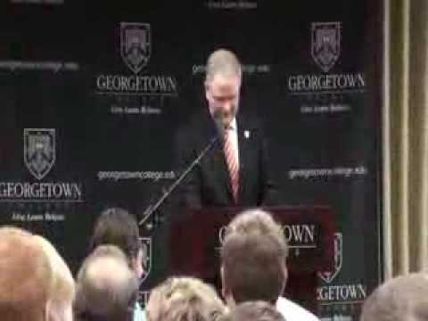 Georgetown College Presidential Announcement