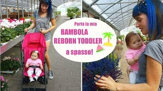 Matilde Bambola Reborn Toddler va a Fare Shopping