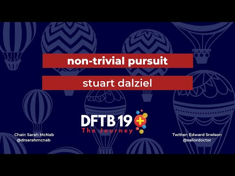 PERN - update and global research: Stuart Dalziel at DFTB19
