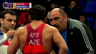 GR   77 kg AZE HASAN ALIYEV   ARM KARAPET CHALYAN
