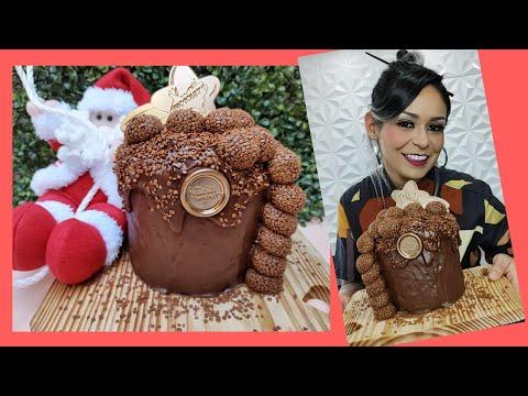 Chocotone Recheado de Brigadeiro  Fature Muito Nesse natal, Produzindo Chocotones