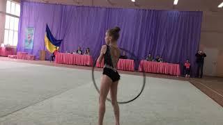 Художественная гимнастика обруч 13/04/2019 Камера 2