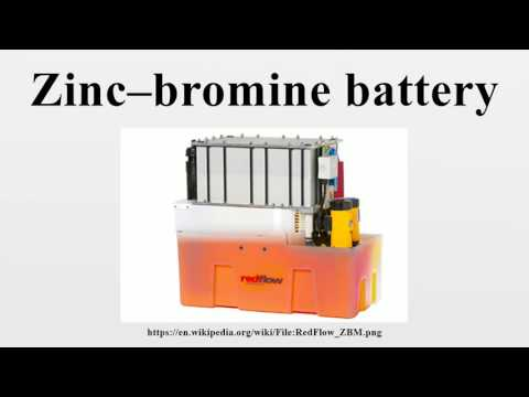 Zinc–bromine battery