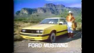 1980 Ford Mustang TV Ad Commercial  (3 of 6)