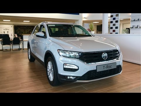 All New Volkswagen T-ROC Compact SUV Exterior/Interior & New
