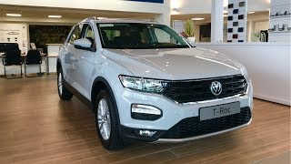 All New Volkswagen T-ROC Compact SUV Exterior/Interior & New Polo - Stavros969